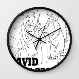 David Atten-Brother Wall Clock