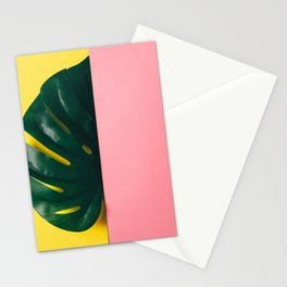 Half of palm leaf Stationery Cards