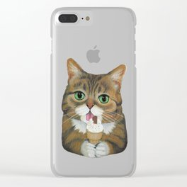 Lil Bub - famous cat Clear iPhone Case