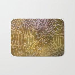 Double Spider Web Bath Mat