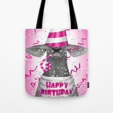 Happy birthday dear deer Tote Bag