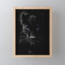 BLACK PANTHER Framed Mini Art Print