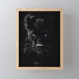 BLACK PANTHER Framed Mini Art Print