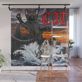 HOLY CAT Wall Mural
