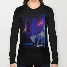 Sad anime aesthetic - mood Long Sleeve T-shirt