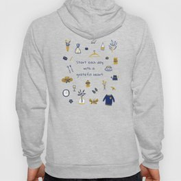 Start Each Day With a Grateful Heart - Cute things Hoody