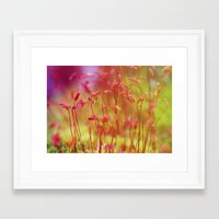 moss Framed Art Prints featuring Moss by LoRo  Art & Pictures