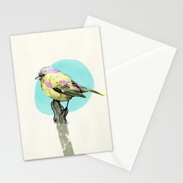 birdy color 6 Stationery Cards