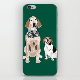 Virgil and Peanut Butter iPhone Skin