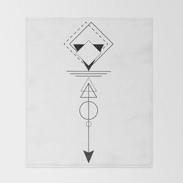 Optical Illusions Throw Blanket