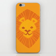Animal Rainbow: Lion iPhone Skin