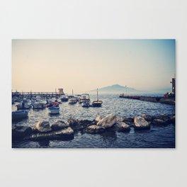 Sorrento Marina at Sunset  Canvas Print