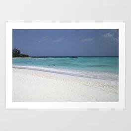 Beach perfection Art Print