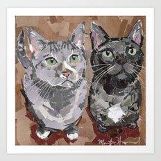 Stash and Foogers Art Print