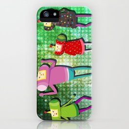 Katamari Cousins Set iPhone Case