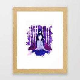 The Bear and the Maiden Fair! Framed Art Print
