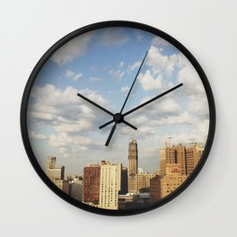 17th Floor - Detroit, MI Wall Clock