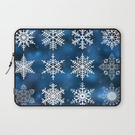 Snowflake collection Laptop Sleeve