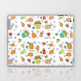 Fast Food Pattern Laptop & iPad Skin