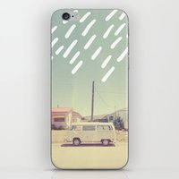 volkswagen iPhone & iPod Skins featuring Volkswagen, New Mexico by Anna Dorfman