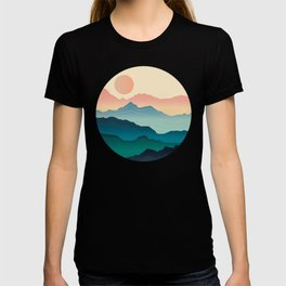 Wanderlust Gradient Mountain T-shirt