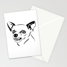 Angry Dog Stationery Cards