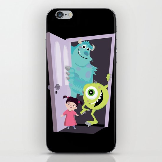 Monsters inc. iPhone & iPod Skin