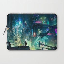 Cyberpunk City Laptop Sleeve