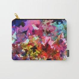 Summer Garden Batik Carry-All Pouch