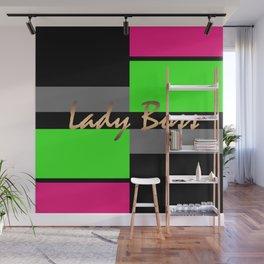 Lady Boss 1 Wall Mural