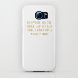 Whiskey Sour iPhone Case