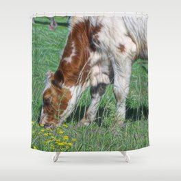 They call me the Muncher Shower Curtain