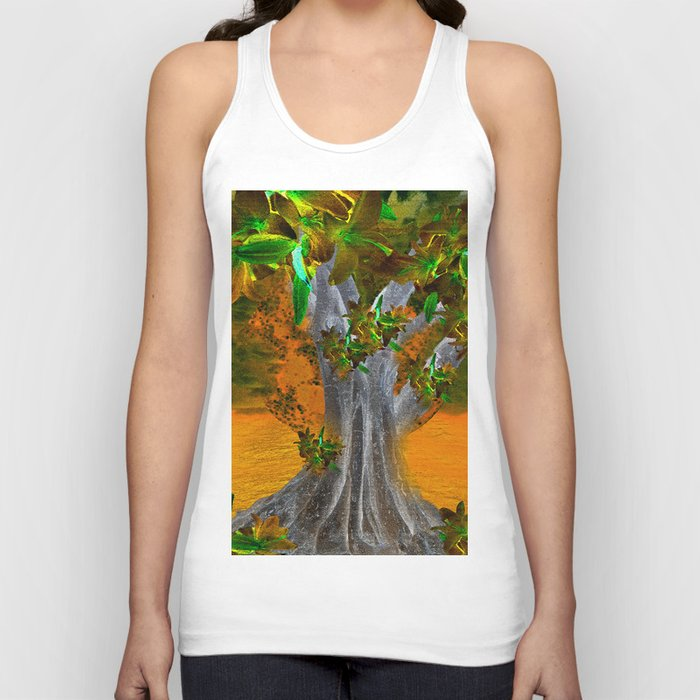 TREE OF YESTERDAY Unisex Tank Top