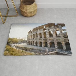 The Colosseum of Rome Rug
