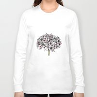 hydrangea Long Sleeve T-shirts featuring Hydrangea by EllaJohnston Art & Illustration