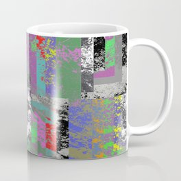 Textured Exclusion I Coffee Mug