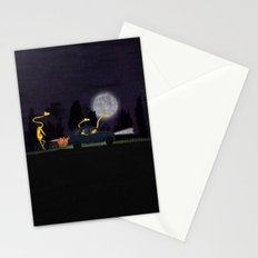 Voyage by night II (animal party) Stationery Cards