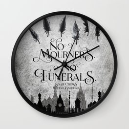 NM-NF Wall Clock