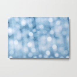 unfocused blue Metal Print