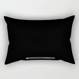 Retro C64 Gamer Rectangular Pillow