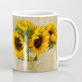 Vintage Sunflowers Coffee Mug