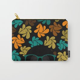 Afro Diva: Fall Colors Brown Gold Teal Carry-All Pouch