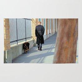 The Shadow Striper's Dog Walk Rug