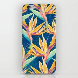 Strelitzia Pattern iPhone Skin