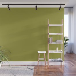 Golden Lime | Pantone Fashion Color Fall : Winter 2017 | New York | Solid Color | Wall Mural
