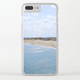 Seabrook Beach Day Clear iPhone Case