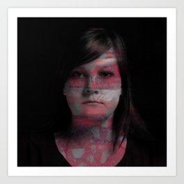 Megan Art Print