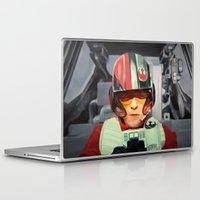 rebel Laptop & iPad Skins featuring Rebel by Rabassa