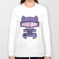 transformers Long Sleeve T-shirts featuring Transformers - Shockwave by CaptainLaserBeam