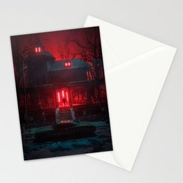 The Haunted Stationery Cards